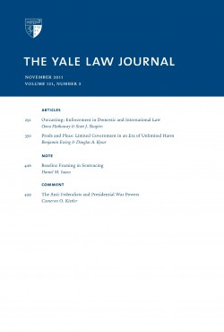 The Yale law journal